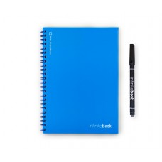 INFINITEBOOK A5 BLUE WITH BLACK MARKER